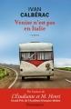 Couverture Venise n'est pas en Italie Editions Flammarion 2015