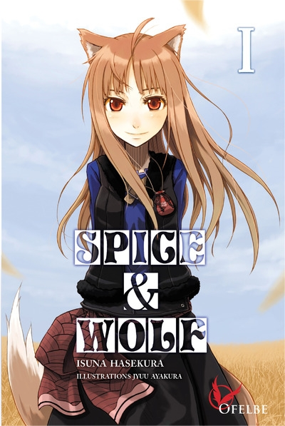 Couverture Spice & Wolf (roman), tome 1