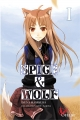 Couverture Spice & Wolf (roman), tome 1 Editions Ofelbe 2015