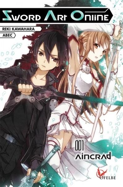 Couverture Sword art Online (roman), tome 1 : Aincrad