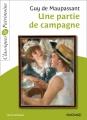 Couverture Une partie de campagne Editions Magnard 2013