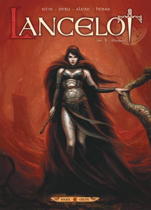 Couverture Lancelot, tome 3 : Morgane