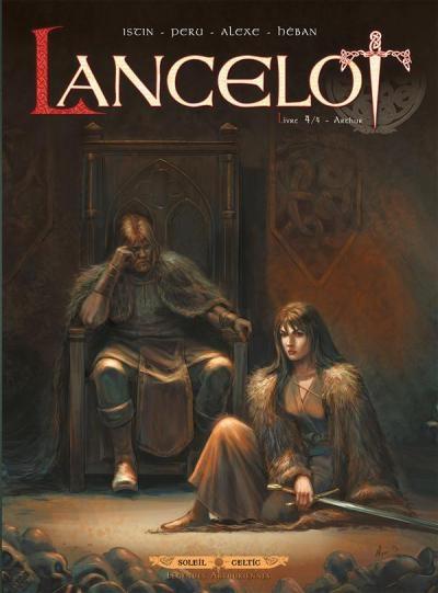 Couverture Lancelot, tome 4 : Arthur