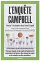 Couverture L'enquête Campbell Editions Les arènes 2006