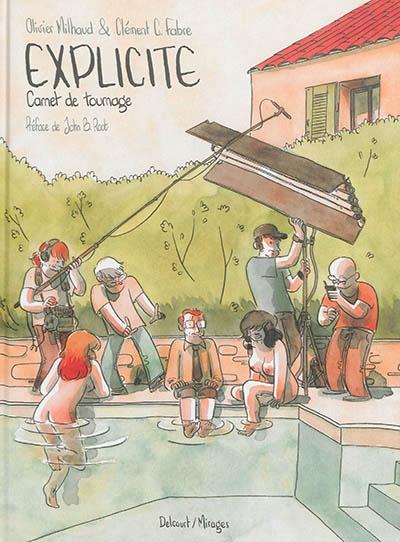 Couverture Explicite : Carnet de tournage