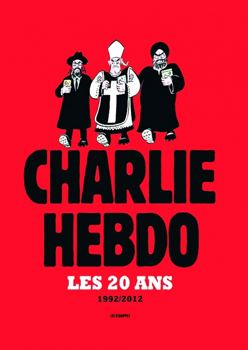 Couverture Charlie Hebdo, les 20 ans : 1992/2012