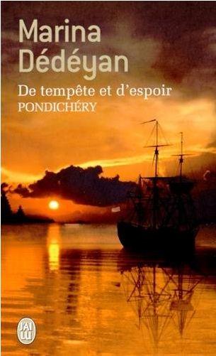 Couverture De tempête et d'espoir, tome 2 : Pondichéry