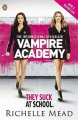 Couverture Vampire Academy, tome 1 : Soeurs de Sang Editions Penguin Books 2014