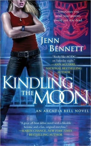 Couverture Arcadia Bell, book 1: Kindling the Moon