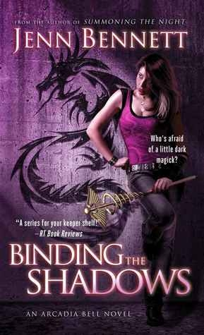 Couverture Arcadia Bell, book 3: Binding the Shadows