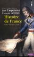 Couverture Histoire de France Editions Points (Histoire) 2014