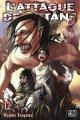 Couverture L'attaque des titans, tome 12 Editions Pika (Seinen) 2015