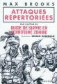 Couverture Attaques répertoriées Editions Calmann-Lévy 2010