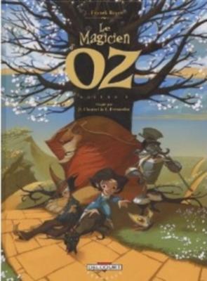 Couverture Le Magicien d'Oz (BD), tome 1