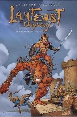 Couverture Lanfeust Odyssey, tome 01 : L'énigme Or-Azur, partie 1