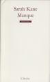 Couverture Manque Editions L'Arche 2002