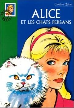 Couverture Alice et les chats persans