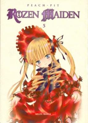 Couverture Rozen Maiden, tome 5