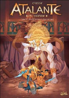 Couverture Atalante : La légende, tome 03 : Les mystères de Samothrace