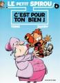 Couverture Le petit Spirou, tome 04 : C'est pour ton bien ! Editions Dupuis 1994