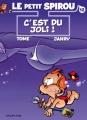 Couverture Le petit Spirou, tome 12 : C'est du joli ! Editions Dupuis 2005
