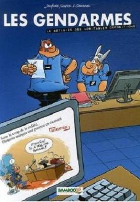 Couverture Les gendarmes, hors-série : Le bêtisier des véritables dépositions