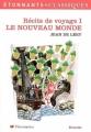 Couverture Récits de voyage, tome 1 : Le Nouveau Monde Editions Flammarion (GF - Etonnants classiques) 2006