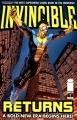 Couverture Invincible Returns, tome 1 Editions Image Comics 2010