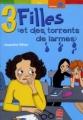 Couverture 3 filles et des torrents de larmes / Des torrents de larmes Editions Le Livre de Poche (Jeunesse - Humour) 2003