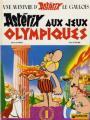Couverture Astérix, tome 12 : Astérix aux jeux olympiques Editions Dargaud 1978