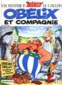 Couverture Astérix, tome 23 : Obélix et compagnie Editions Dargaud 1980