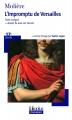 Couverture L'Impromptu de Versailles Editions Folio  (Plus classiques) 2008