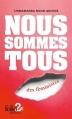 Couverture Nous sommes tous des féministes Editions Folio  (2 €) 2015