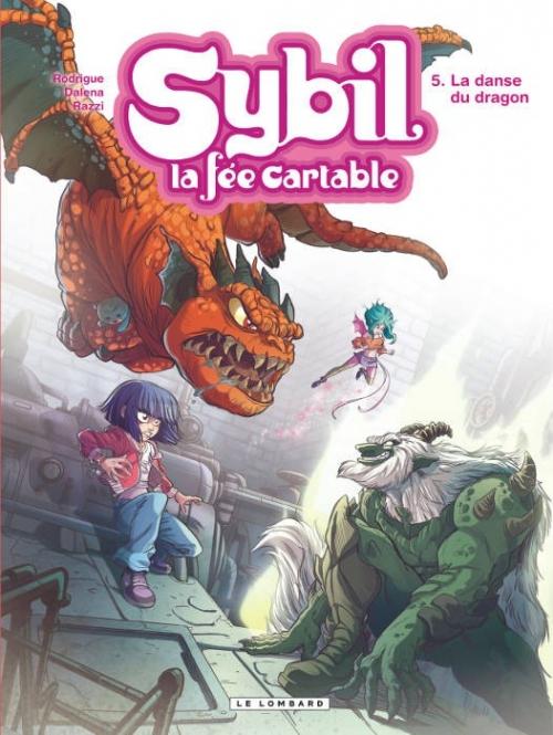 Couverture Sybil, la fée cartable, tome 5 : La danse du dragon