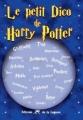 Couverture Le petit dico de Harry Potter Editions de la Lagune (Senso) 2007