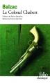 Couverture Le colonel Chabert Editions Folio  (Classique) 2010