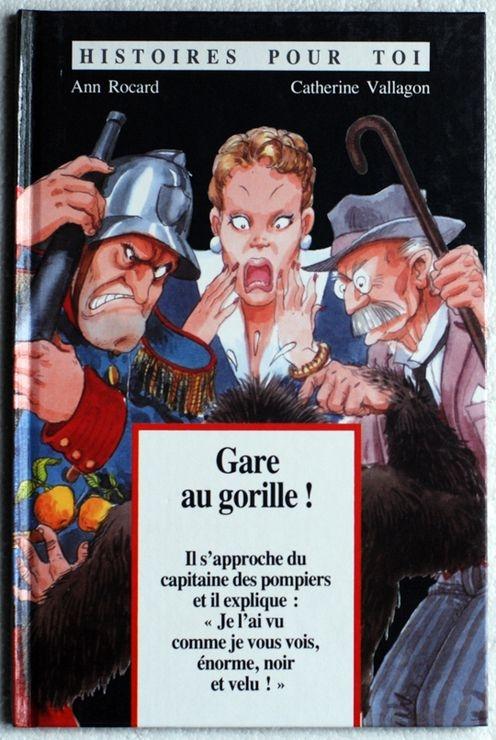 Couverture Gare au gorille !