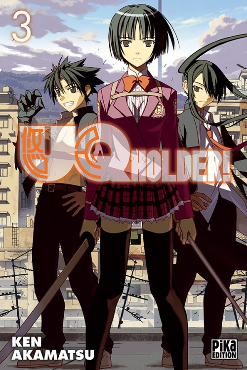Couverture UQ Holder !, tome 03