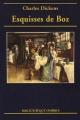Couverture Esquisses de Boz Editions Ombres (Petite bibliothèque ombres) 2005