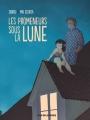 Couverture Les Promeneurs sous la Lune Editions Rue de Sèvres 2015