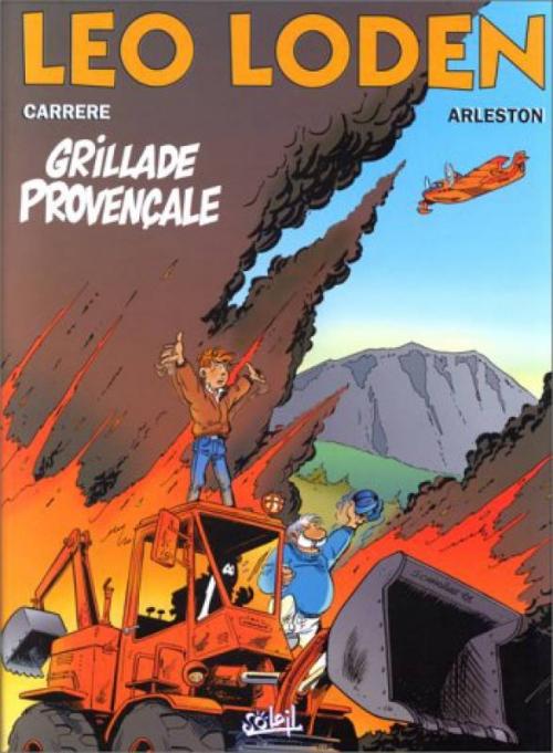 Couverture Léo Loden, tome 04 : Grillade Provençale