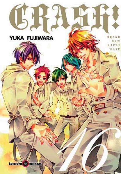 Couverture Crash !, tome 16
