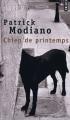 Couverture Chien de printemps Editions Points 1995