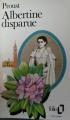 Couverture Albertine disparue Editions Folio  1954