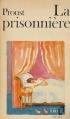 Couverture La prisonnière Editions Folio  1972