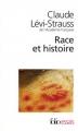 Couverture Race et histoire Editions Folio  (Essais) 2010