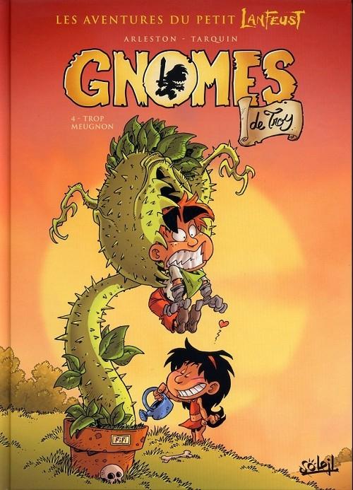 Couverture Gnomes de Troy, tome 4 : Trop meugnon