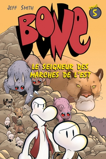 Couverture Bone, tome 05 : Le pourfendeur de dragons