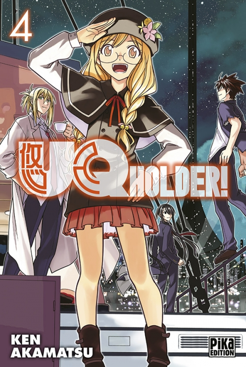 Couverture UQ Holder !, tome 04
