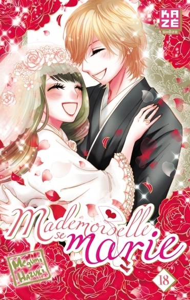 Couverture Mademoiselle se marie, tome 18